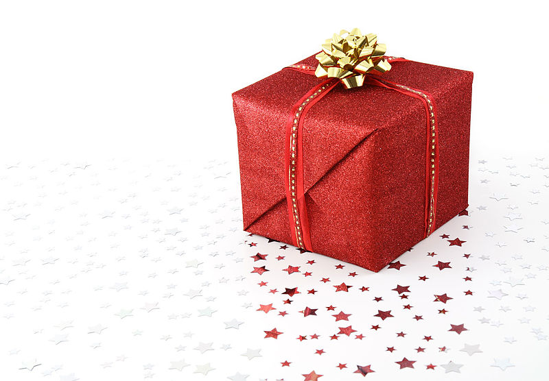 800px-Red_Christmas_present_on_white_background